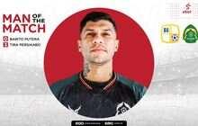 Man of The Match Barito Putera vs Tira Persikabo: Ciro Alves
