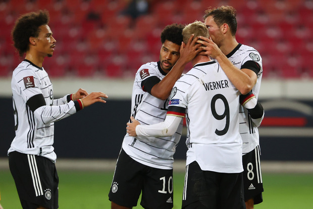 Hasil dan Klasemen Kualifikasi Piala Dunia 2022 zona Eropa Jerman, Italia dan Spanyol Berjaya