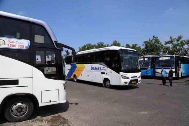 Naik Bus DAMRI dari Bogor ke Bandara Soetta Cuma 100 Perak, Gini Caranya