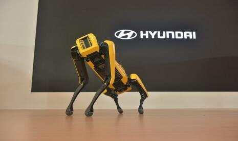 Hyundai Perkenalkan Robot Kargo di Indonesia