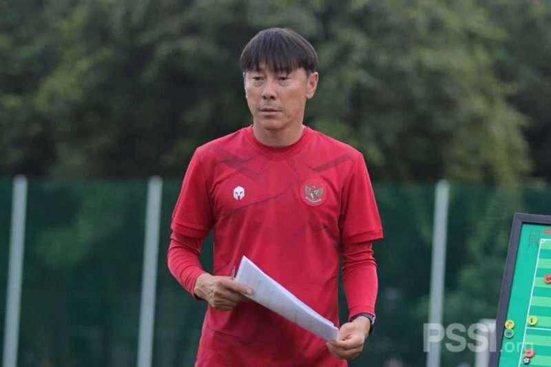 Shin Tae-yong Pantau Mentalitas Timnas U-18